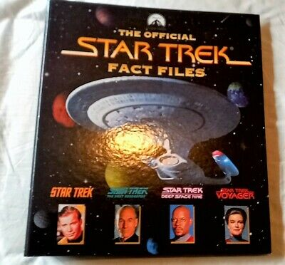 £2.37 • Buy The Official Star Trek Fact Files, Very Good Condition