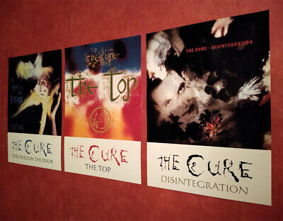 £12.99 • Buy THE CURE 80s A3 POSTER PRINTS 3 SET THE HEAD ON THE DOOR *SUPER REDUCED PRICE*