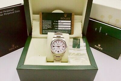 $ CDN7616.87 • Buy Rolex Air-King 114200 Box And Papers 2014 With Rolex Service In 2017