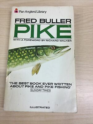 £5 • Buy Fred Buller Pike And Pike Fishing 1979 Pan Anglers Paperback Book