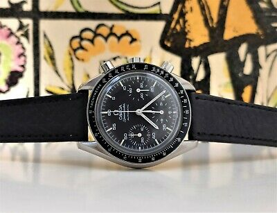 £1838.87 • Buy Omega Speedmaster Automatic Reduced Steel Watch 1750032 Chronograph