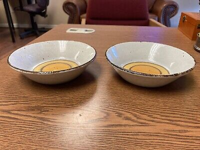 £18.10 • Buy TWO (2) MIDWINTER STONEHENGE - SUN CEREAL BOWL RARE 6.5  X 1.75  D