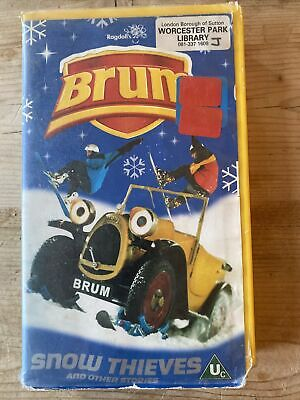 £2.50 • Buy Brum - Snow Thieves And Other Stories VHS Ex Rental