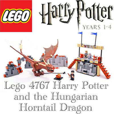 £1.20 • Buy Lego Set 4767 Harry Potter And The Hungarian Horntail COMPLETE With Instructions
