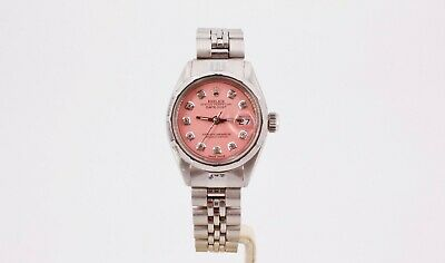 $ CDN5184.67 • Buy Rolex Oyster Perpetual Datejust 6917 Pink And Diamond Dial
