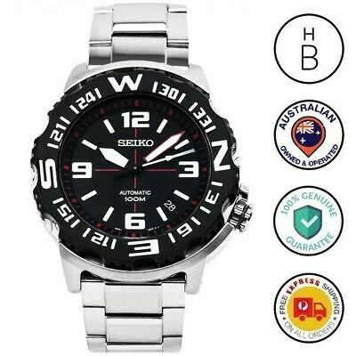 $ CDN279.92 • Buy New Seiko Superior Automatic Sports Divers Men's Watch Black Silver Tone SRP445