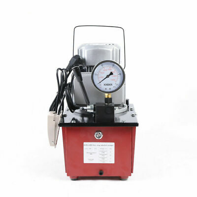 $299.01 • Buy 10000PSI Electric Driven Hydraulic Pump Single Acting 63Mpa AC110V+1.8M Oil Hose