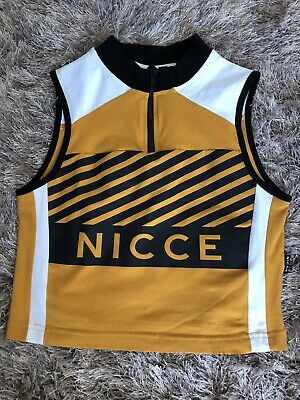 £1.30 • Buy New Womens Nicce Zip Up West Top Size S