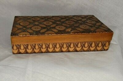 £5 • Buy Wooden Hand Carved Box