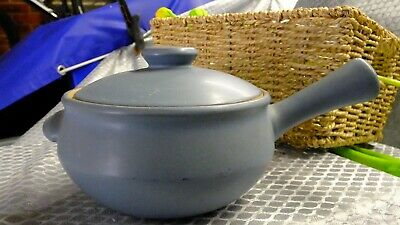 £8 • Buy Denby Stone Blue Individual  Covered Casserole Dish