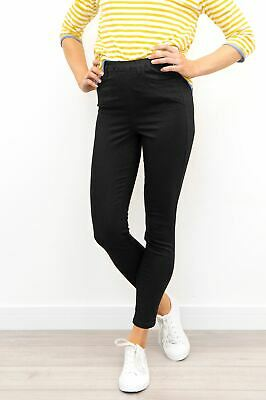 £21.95 • Buy Womens White Stuff Jegging Janey Black Stretch Casual Cotton Stretch Full Length