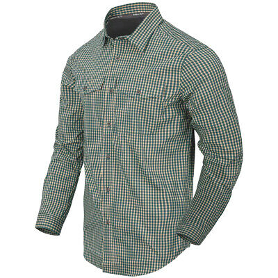 £59.90 • Buy Helikon-Tex Covert Concealed Carry Shirt Mens Long Sleeve Savage Green Checkered