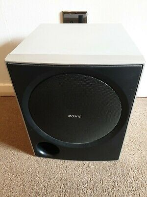 £30 • Buy Sony SS-WP700 Home Theater Passive Sub Woofer Speaker - Silver Tested Working
