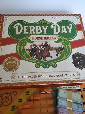 £7.24 • Buy COMPLETE 2018 Derby Day | Horse Racing Board Game - Used
