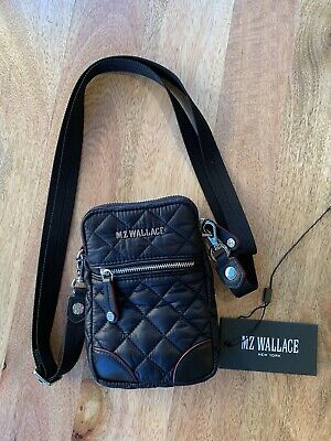 $114 • Buy MZ Wallace Quilted Black Metro Crossbody