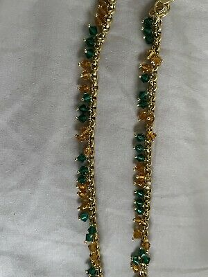 £9.99 • Buy Indian Costume Jewellery Anklet Payal Brand New Lovely Bells