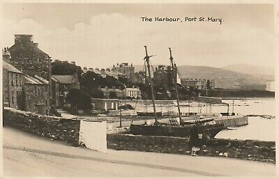 £2 • Buy R P POSTCARD - The Harbour Port St Mary IOM -  CH052