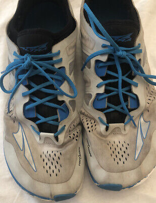 $25 • Buy Altra Zero ~Men's Size 11.5 ~Gray Blue Running Athletic Shoes Preowned