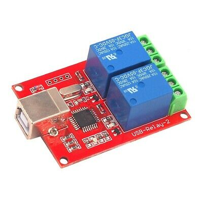 £7.69 • Buy Drive Free USB Control Switch 2-Way 5V Relay Module Computer Control Switch PC
