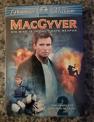 $12.48 • Buy MacGyver - The Complete Second Season 2 (DVD, 2005, 6-Disc Set)