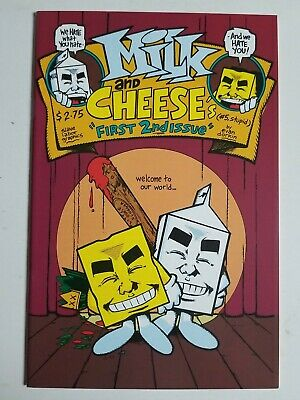 $3 • Buy Milk And Cheese (1991) #5 - Near Mint - 1st Second Issue, 3rd Printing
