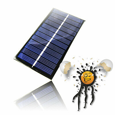 £5.26 • Buy Arduino 6V 1W Solarzelle 110x60 166mA Polycrystalline Panel Charger Photovoltaic