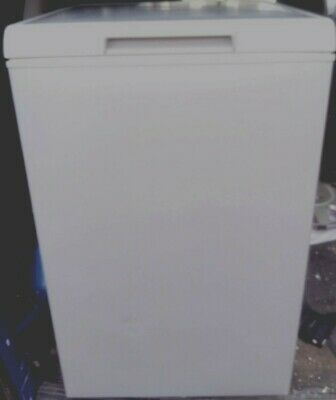 £125 • Buy Whirlpool Wcn 108 Litre Capacity Volume Silver  Brushed Grey Chest Freezer