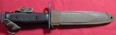 $43 • Buy U.S.Bayonet M 7 Made By Ontario With Correct Scabbard.