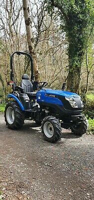 £7100 • Buy Solis 26 HST 4x4 Compact Tractor In Excellent Condition With Only 80hrs!