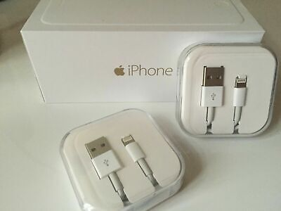 £1.79 • Buy IPhone Charger Cable - Apple Lightning Speedy Sync USB Lead 5 6 7 X With Boxed