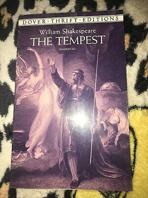 £1.95 • Buy Dover Thrift Editions: The Tempest By William Shakespeare (Paperback Book)