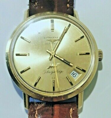 £291.01 • Buy Longines Flagship 14k Solid Yellow Gold Ultra-chron Automatic 431