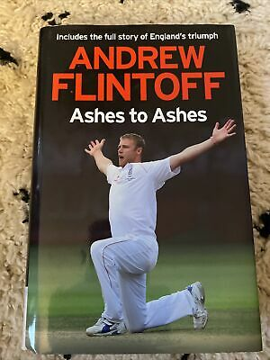 £3 • Buy Andrew Flintoff: Ashes To Ashes: One Test After ... By Flintoff, Andrew Hardback