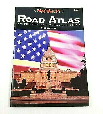 £7.24 • Buy Mapquest Large Road Atlas: United States, Canada, Mexico. - 2003 Edition