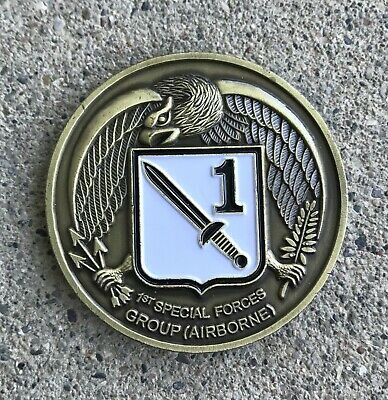 £7.24 • Buy 1st Special Forces Group Challenge Coin