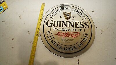 £25.17 • Buy Guinness  Extra Stout Oval Mirror Beer Sign