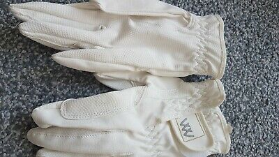 £10 • Buy Woof Wear Competition Gloves, White, Size 6.5, Small