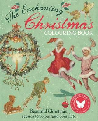 £8.30 • Buy Enchanting Christmas Colouring Book By Margaret Tarrant Paperback Book Free Ship