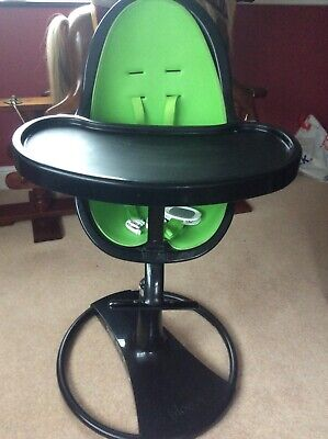 £45 • Buy Bloom Fresco High Chair. Black And Green With Extras