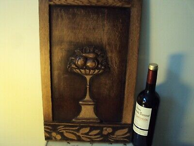 £25 • Buy Antique Carved Wooden Panel