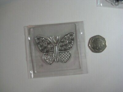 £0.99 • Buy Butterfly Clear Stamp Craft