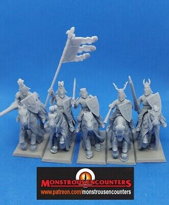 £12 • Buy 3rd Party Bretonnian Knights Of The Realm X 5  Inc Command