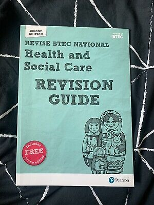 £3 • Buy Pearson REVISE BTEC National Health And Social Care Revision Guide: With Free In