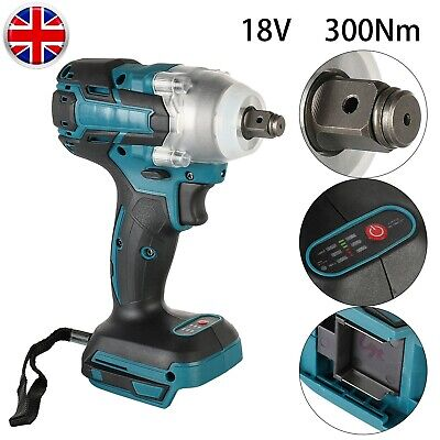 £19.73 • Buy 520Nm Electric Cordless Impact Wrench For Makita 18V Li-ion Battery Brushless