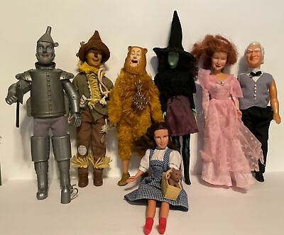 £50.91 • Buy 7 Vintage Wizard Of Oz Toy Time Inc. & Multi Toys Dolls + Toto & Accessories