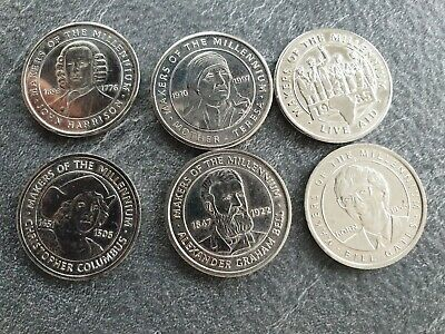 £1.30 • Buy Makers Of The Millenium Coins Collection - 2000