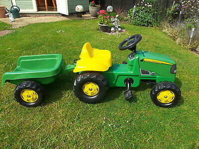 £50 • Buy John Deere Pedal Tractor And Trailer