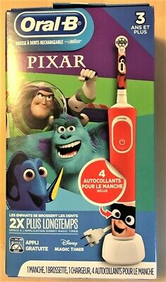 AU26.71 • Buy NEW-Oral-B Kids Electric Toothbrush Featuring Disney Pixar Toy Story For Kids 3+