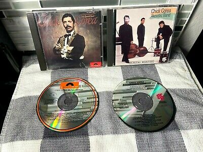 $ CDN14.32 • Buy Lot Of 2 CHICK COREA CDs - My Spanish Heart CD Polydor P2-25657 & Akoustic Band