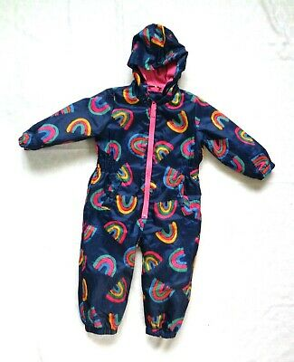 £13.99 • Buy RAINBOW Waterproof Fleece Lined Puddle/Snow Suit, All In One. Age 18-24 Month TU